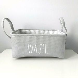 New Rae Dunn small laundry basket